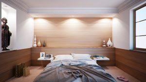 ארגון חכם של חדר שינה קטן